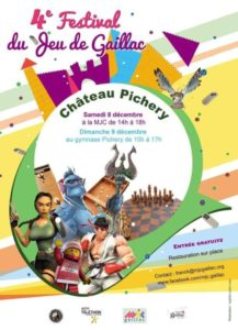 Festival du jeu de Gaillac @ Gymnase Pichery